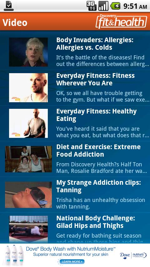 Discovery Fit & Health - screenshot