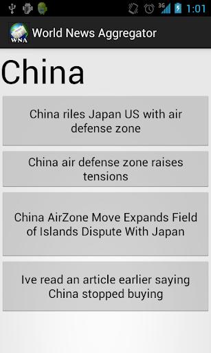 World News Aggregator