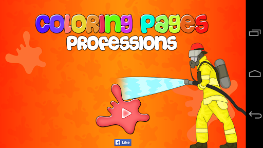 Coloring Pages Professions