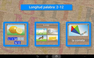 Screenshot of Learn Spanish words & spelling