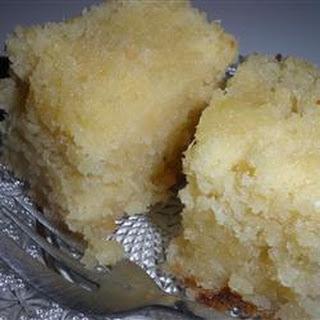 Lite Coconut Cake.