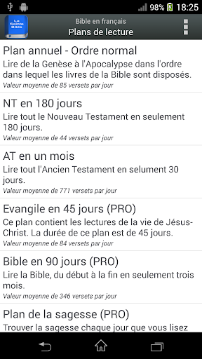 Bible en franu00e7ais Louis Segond  screenshots 8