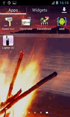 3D Virtual Lighter Mod - screenshot