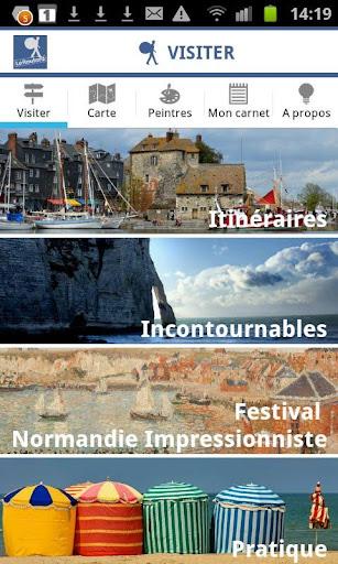 【免費旅遊App】Normandie des Impressionnistes-APP點子