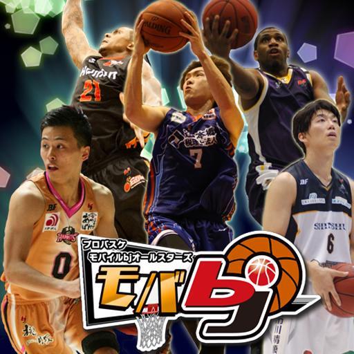 プロバスケットボール「モバbj」登録無料育成カードゲーム 體育競技 LOGO-玩APPs