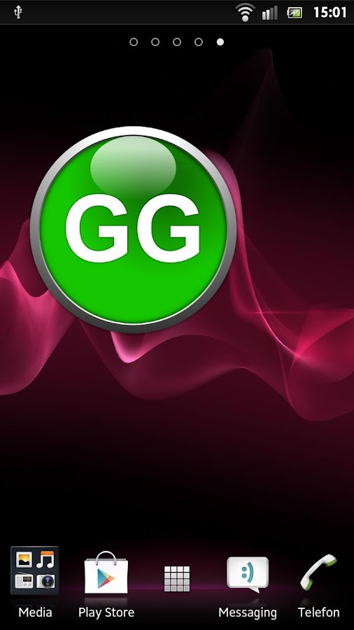 GG Button Widget Full- screenshot