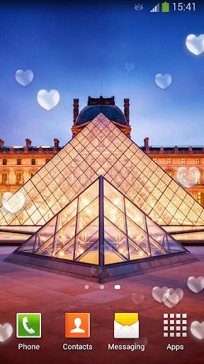 巴黎的盧浮宮