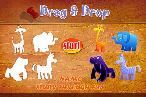 Drag And Drop - Name Study