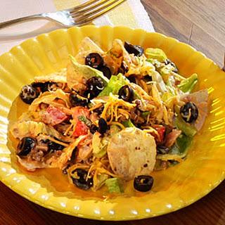 Three-Step Taco Salad.