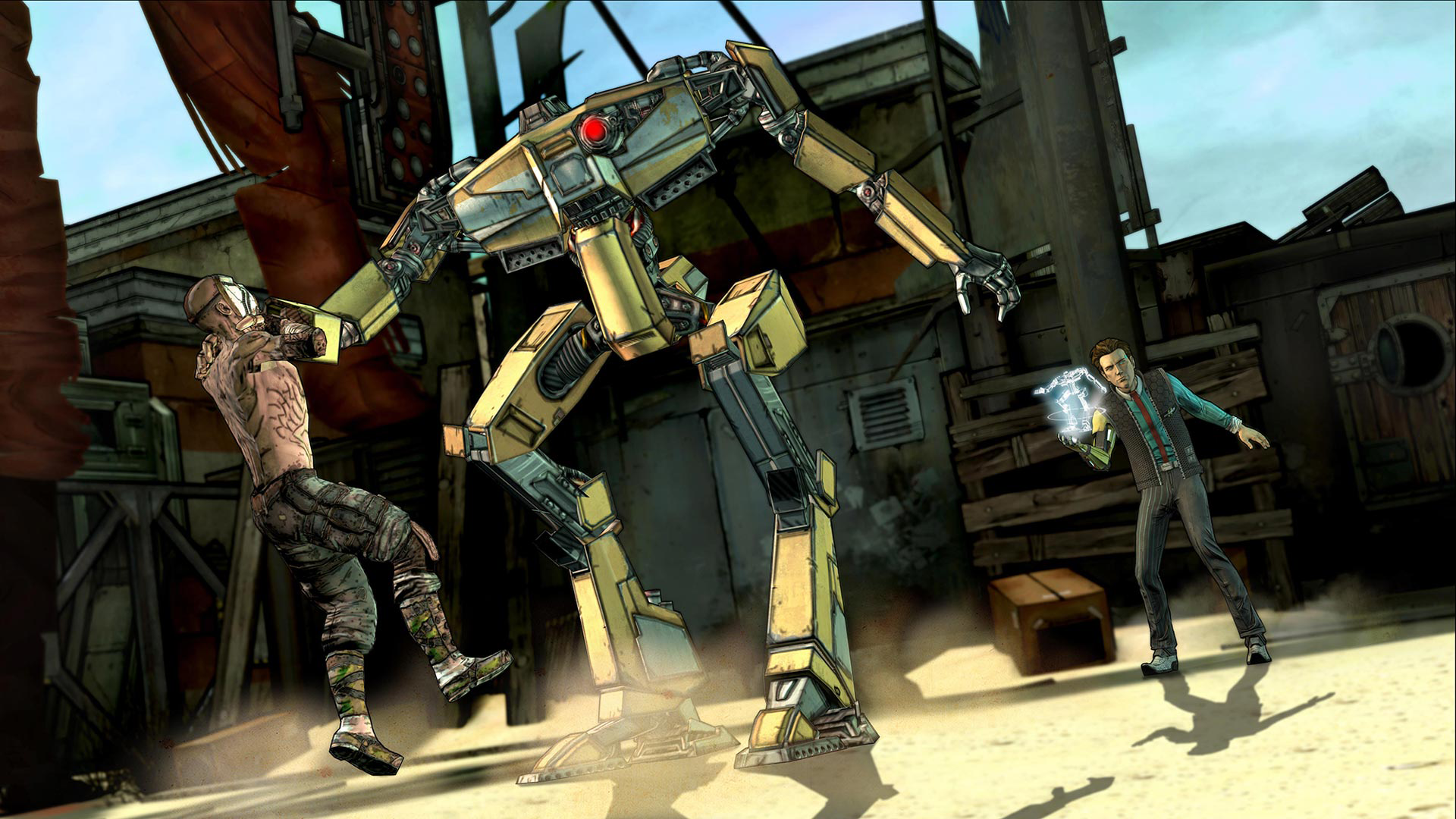 Tales from the Borderlands screenshot #6