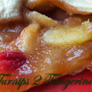 Apple Orange Cranberry Crostata