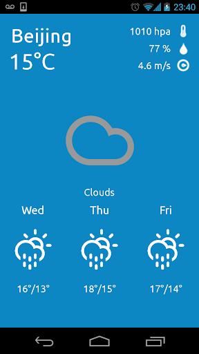 免費下載氣象預報app Beijing China Weather Forecast!準確預報天氣好用App