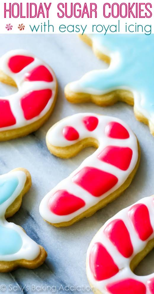 Christmas Butter Cookies with Powdered Sugar Icing - The ...   Cookie Icing Recipe Powdered Sugar