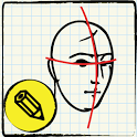 How to Draw People icon