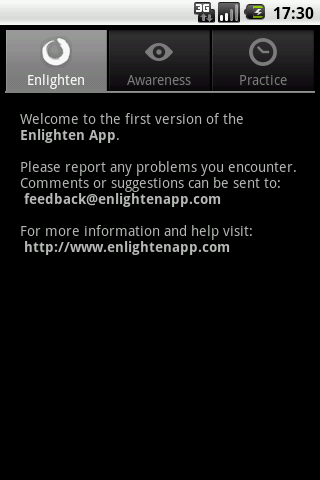 Enlighten- screenshot