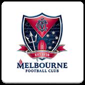 Melbourne FC Spinning Logo