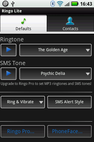 Ringo: Ringtones & Text Alerts - screenshot