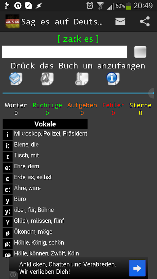 Sag es auf Deutsch (free)- screenshot