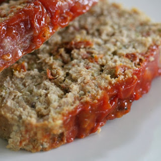 Chicken Meatloaf with Sun-Dried Tomatoes.