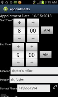 Foster Parent Appt Assist ICS- screenshot thumbnail