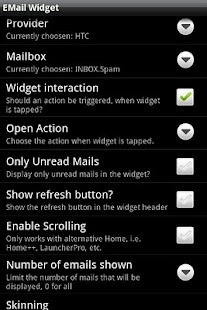 Email Widget- screenshot thumbnail