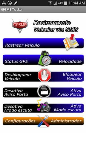 GPSMS Rastreador GPS Tracker