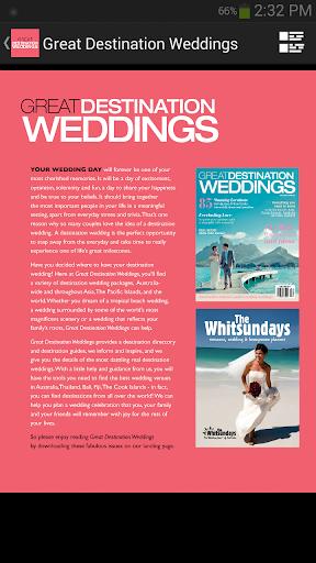 Great Destination Weddings