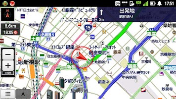 Screenshot of internavi Pocket