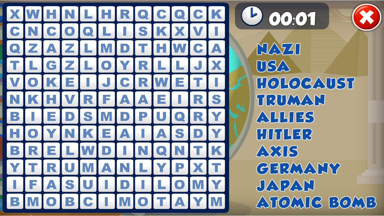 Word Scramble Maker with Clues