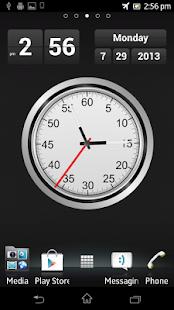 T Clock Live Wallpaper