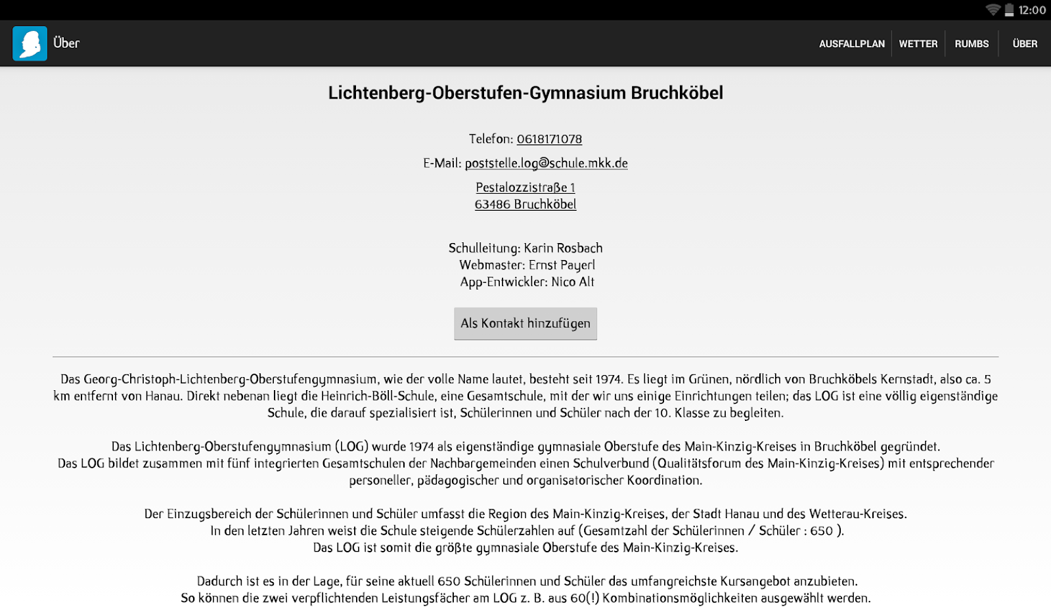 LOG Bruchköbel- screenshot