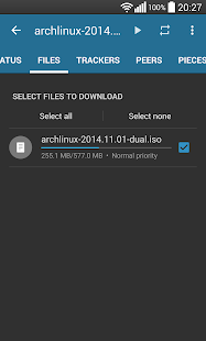 Flud - Torrent Downloader- screenshot thumbnail