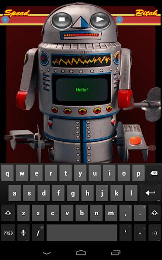 Metal Mikey Talking Robot Toy