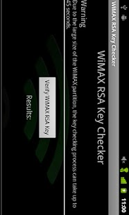 WiMAX Key Checker- screenshot thumbnail