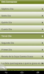 Dieta Quemagrasas - screenshot thumbnail
