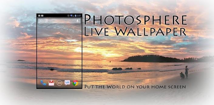Photosphere Live Wallpaper v1.01 apk