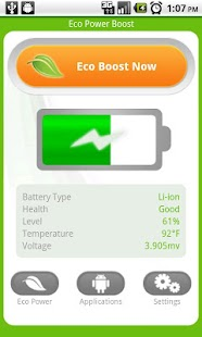 Android Eco Battery Saver FREE - screenshot thumbnail