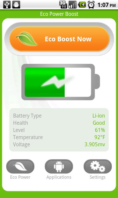 Android Eco Battery Saver FREE - screenshot