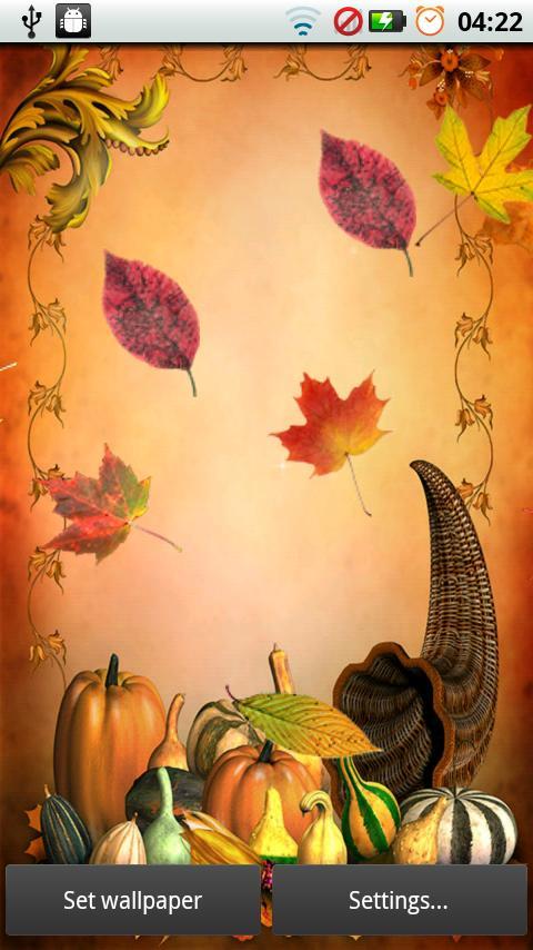 Fall Leaves for Thanksgiving screenshot #6