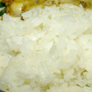 Puerto Rican Steamed Rice.