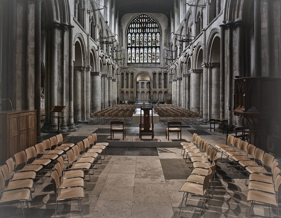 Inside Rochester Cathedral by Tracy Hughes - Buildings & Architecture Places of Worship ( , Architecture, Ceilings, Ceiling, Buildings, Building )