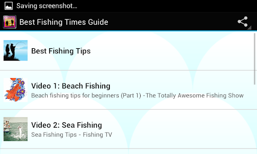 Download best fishing times guide apk on pc download for Good fishing times