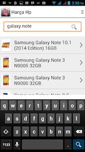 Harga Hp - screenshot thumbnail