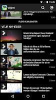 Screenshot of TV 2 Vejret