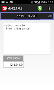 Simple Android Oracle client- screenshot thumbnail
