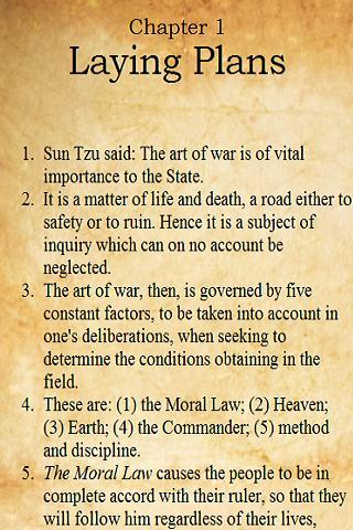 ➹ The Art of War FREE E-Book➹ - screenshot