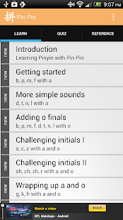 Pinyin Chart by Pin Pin- screenshot thumbnail