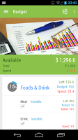 Screenshot of Tap Money Tracker