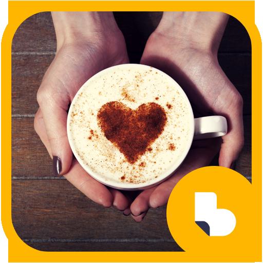커피 아트 버즈런처 테마 (홈팩) app (apk) free download for Android/PC/Windows