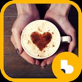 커피 아트 버즈런처 테마 (홈팩)